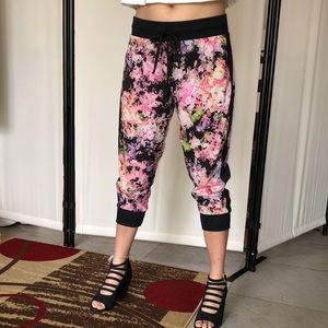 Cynthia Rowley Water Color Cropped Jogger